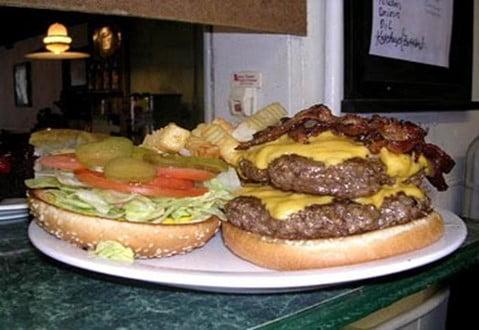 The Bull Burger Challenge