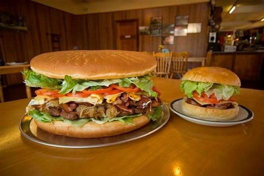 Australia's Biggest Hamburger