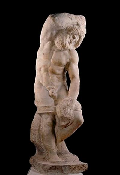 Slaves or Prisoners by Michelangelo