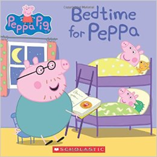 Bedtime for Peppa by Scholastic
