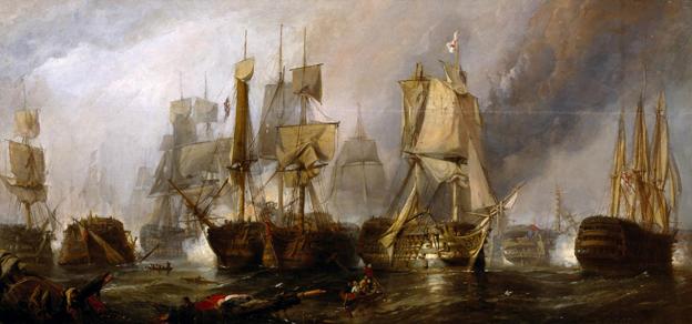 Battle of Trafalgar: 1805