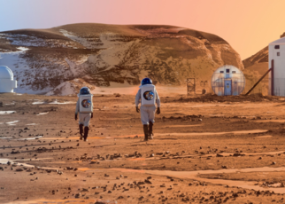 Mars Colony In Future