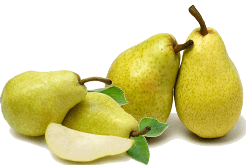 Pear-lose weight