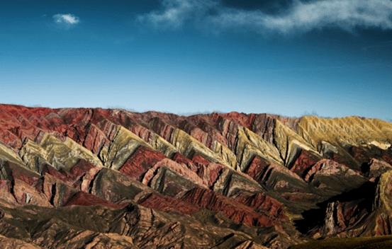 Serranía de Hornocal, Argentina