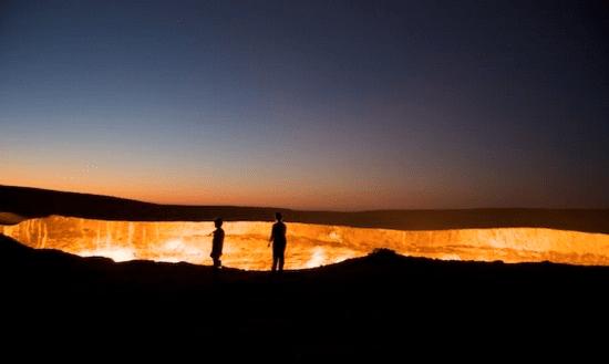 Darweze, Turkmenistan
