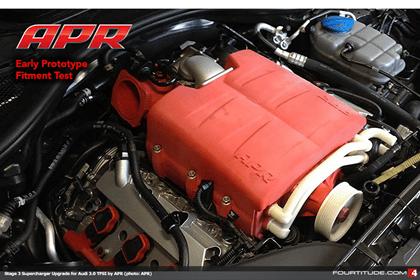 Audi 3L Supercharged V-6