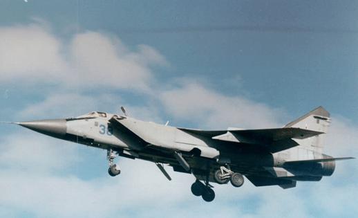 Mikoyan MiG-31 Foxbat