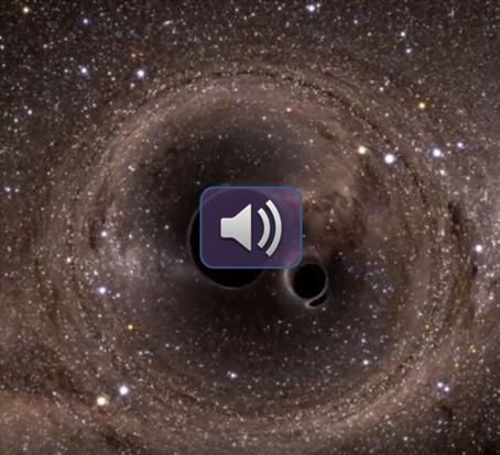 Black holes produce great sound