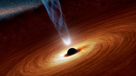 Nothing escapes the black hole