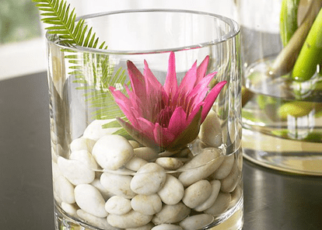 Make Decorations with Pebbles