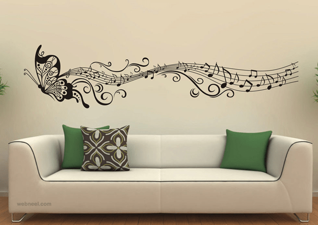 Music Wall Painting Ideas
