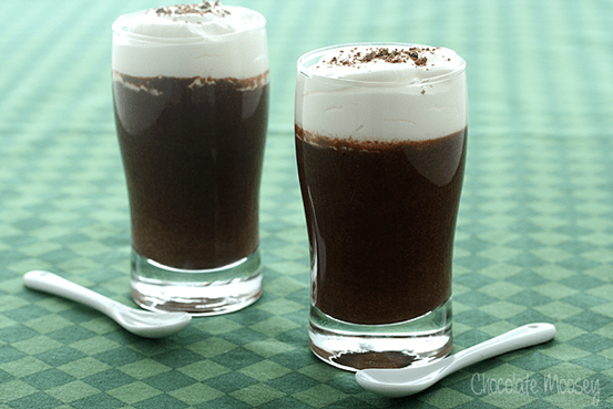 Chocolate Mousse Cups with Guinness