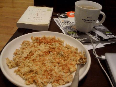 Oat scrambled eggs